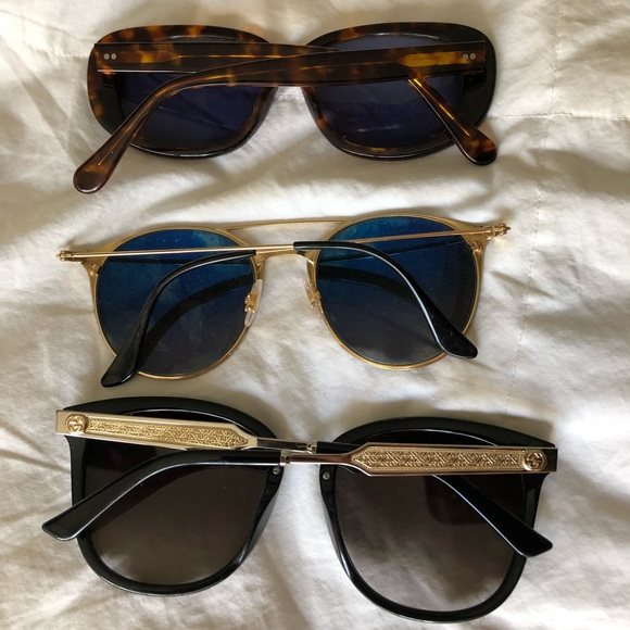 67f09384dfacc Gucci Accessories - Authentic Gucci ray ban and supreme sunglasses